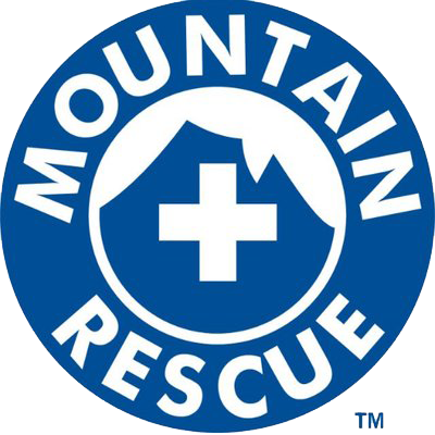 transparent mountain rescue logo